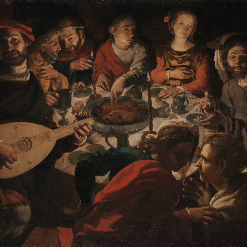 Bruiloft in Kana, J.C. Vermeyen, ca.1530